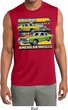 Mens Dodge Shirt Dodge Dart Sleeveless Moisture Wicking Tee T-Shirt
