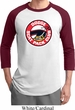 Mens Dodge Shirt Dodge Scat Pack Club Raglan Tee T-Shirt