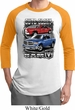Mens Dodge Shirt Guts and Glory Ram Trucks Raglan Tee T-Shirt