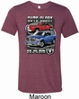 Mens Dodge Shirt Guts and Glory Ram Trucks Tri Blend Crewneck Shirt