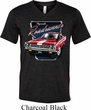 Mens Dodge Shirt Plymouth Roadrunner Tri Blend V-neck Tee T-Shirt