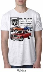 Mens Dodge Shirt Ram Trucks Burnout Tee T-Shirt