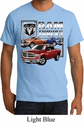 Mens Dodge Shirt Ram Trucks Organic Tee T-Shirt