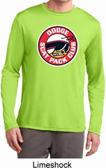 Mens Dodge Shirt Scat Pack Club Dry Wicking Long Sleeve Tee T-Shirt