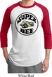 Mens Dodge Shirt Super Bee Raglan Tee T-Shirt