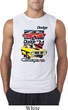 Mens Dodge Shirt Vintage Chargers Sleeveless Tee T-Shirt