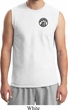 Mens Dodge Super Bee Circle Logo Pocket Print Muscle Shirt