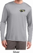 Mens Dodge Super Bee Logo Pocket Print Dry Wicking Long Sleeve Shirt