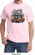 Mens Dodge Tee Blue and Orange Super Bee T-shirt