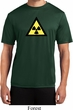 Mens Fallout Shirt Radioactive Triangle Moisture Wicking Tee T-Shirt