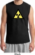 Mens Fallout Shirt Radioactive Triangle Muscle Tee T-Shirt