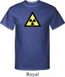 Mens Fallout Shirt Radioactive Triangle Tall Tee T-Shirt