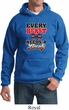 Mens Fitness Hoodie Every Beast Needs A Beauty Hoody