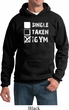 Mens Fitness Hoodie Single Taken At The Gym Hoody