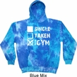 Mens Fitness Hoodie Single Taken At The Gym Tie Dye Hoody