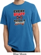 Mens Fitness Shirt Every Beast Needs A Beauty Pigment Dyed Tee T-Shirt