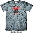 Mens Fitness Shirt Every Beast Spider Tie Dye Tee T-shirt