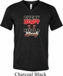 Mens Fitness Shirt Every Beast Tri Blend V-neck Tee T-Shirt