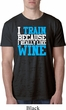 Mens Fitness Shirt I Train For Wine Burnout Tee T-Shirt