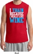 Mens Fitness Shirt I Train For Wine Muscle Tee T-Shirt