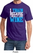 Mens Fitness Shirt I Train For Wine Tee T-Shirt