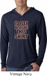 Mens Fitness Shirt Id Flex Lightweight Hoodie Tee T-Shirt