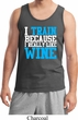 Mens Fitness Tanktop I Train For Wine Tank Top