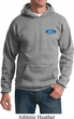 Mens Ford Hoodie Ford Oval Pocket Print Hoody