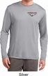 Mens Ford Mustang Pocket Print Dry Wicking Long Sleeve