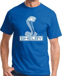 Mens Ford Mustang Shelby Cobra T-shirt