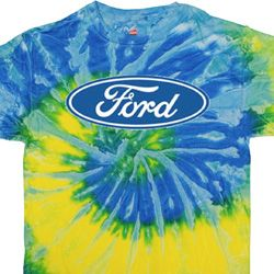 Mens Ford Oval Tie Dye Shirt
