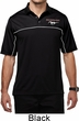 Mens Ford Polo Mustang Pocket Print Dry Wicking Polo