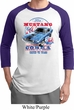 Mens Ford Shirt 1968 Cobra Jet Raglan Shirt