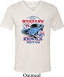 Mens Ford Shirt 1968 Cobra Jet Tri Blend V-neck Shirt