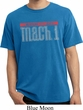 Mens Ford Shirt 50 Years Mach 1 Pigment Dyed Tee T-Shirt