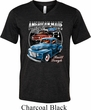 Mens Ford Shirt American Made Tri Blend V-neck Shirt
