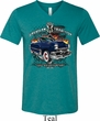 Mens Ford Shirt American Tradition Tri Blend V-neck Shirt
