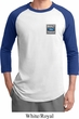 Mens Ford Shirt Built Ford Tough Pocket Print Raglan Tee T-Shirt