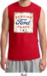 Mens Ford Shirt Distressed Genuine Ford Parts Muscle Tee T-Shirt