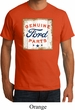 Mens Ford Shirt Distressed Genuine Ford Parts Organic Tee T-Shirt