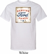 Mens Ford Shirt Distressed Genuine Ford Parts Tall Tee T-Shirt