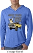Mens Ford Shirt Driving and Tagging Bucks Lightweight Hoodie Shirt