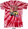 Mens Ford Shirt Driving and Tagging Bucks Twist Tie Dye Shirt