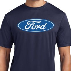 Mens Ford Shirt Ford Oval Moisture Wicking Tee T-Shirt
