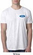 Mens Ford Shirt Ford Oval Pocket Print Burnout Tee T-Shirt