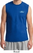 Mens Ford Shirt Ford Oval Pocket Print Muscle Tee T-Shirt