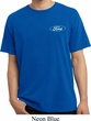 Mens Ford Shirt Ford Oval Pocket Print Pigment Dyed Tee T-Shirt