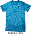 Mens Ford Shirt Ford Oval Pocket Print Spider Tie Dye Tee T-shirt