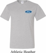 Mens Ford Shirt Ford Oval Pocket Print Tall Tee T-Shirt