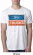 Mens Ford Shirt Ford Trucks Logo Burnout Tee T-Shirt